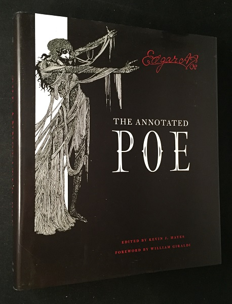 The Annotated Poe by Edgar Allan Poe New Hardcover Deluxe Large Hardcover Gift