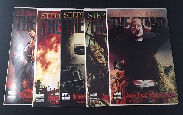 The Stand: American Nightmares (Complete Five Issue Run). Comic, Stephen KING, Roberto AGUIRRE-SACASA.