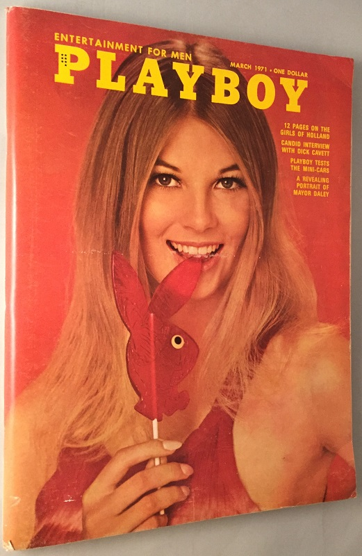 Playboy Magazine (FIRST APPEARANCE OF ANY PUBLISHED WORK BY JAMES KAHN, author of the novelizations of Star Wars: Episode VI & The Goonies among others). James KAHN, Alberto VARGAS, Ellery QUEEN, Peter MATTHIESSEN, et all.