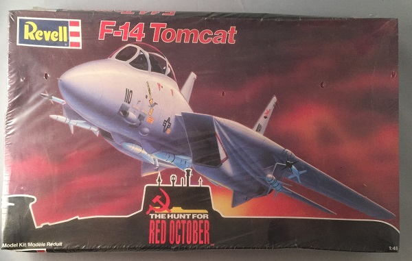 "Factory Sealed 1990 REVELL ""F-14 Tomcat"" Model Kit - THE HUNT FOR RED OCTOBER. Toys, Games."