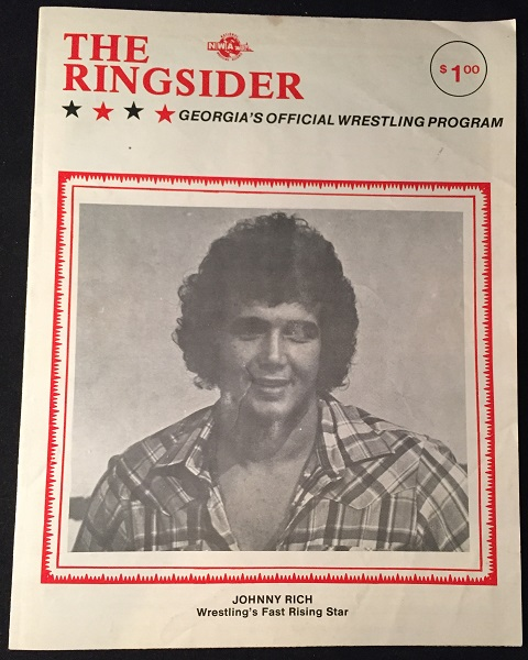 The Ringsider: Georgia's Official Wrestling Program. Sports, Paul JONES, The Iron SHEIK, et all.