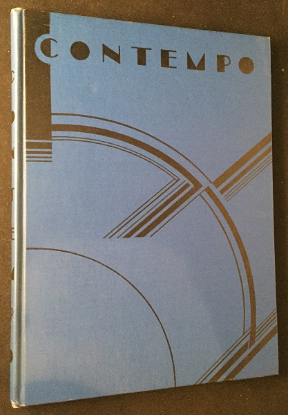 Contempo: This American Tempo (SIGNED AND INSCRIBED FIRST PRINTING). Art, Design, John VASSOS, Ruth VASSOS.