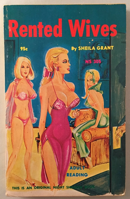 Rented Wives; This is an original Night Shadow Book. Sheila GRANT.