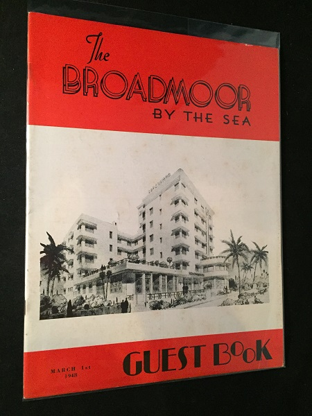 The Hotel Guest Book - The Broadmoor by the Sea (March 1, 1948). Lucille BALL, Lorna CLARK, et all.