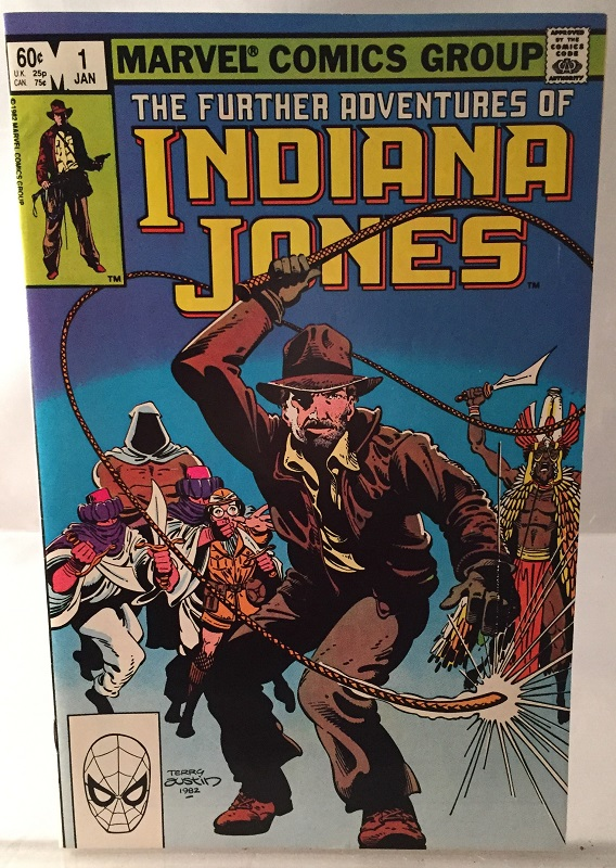 "The Further Adventures of Indiana Jones #1 (SIGNED AT ""1ST ONE"" BY JOHN BYRNE!). Comics & Graphic Novels, John BYRNE, Terry AUSTIN, Stan LEE."