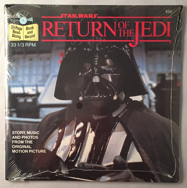 Star Wars: Return of the Jedi 24 Page Read-Along (SEALED IN ORIGINAL WRAP). James KAHN, Buena Vista Records.