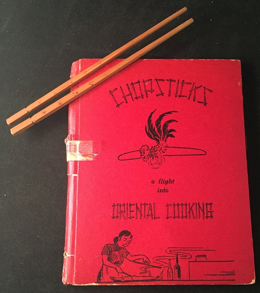 Chopsticks: A Flight Into Oriental Cooking; US Air Force Wives Stationed in Taiwan Post-WWII. Mrs. Wang Shu MING, et all.