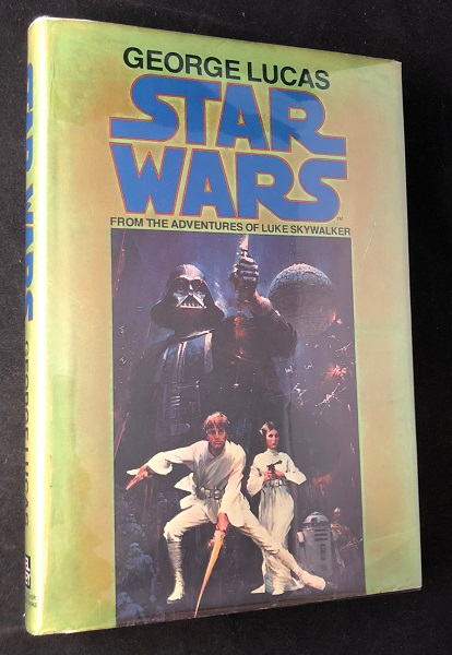 Star Wars: From the Adventures of Luke Skywalker (SIGNED 1ST TRADE EDITION); Original price of $6.95! Star Wars, George LUCAS, Alan Dean FOSTER.