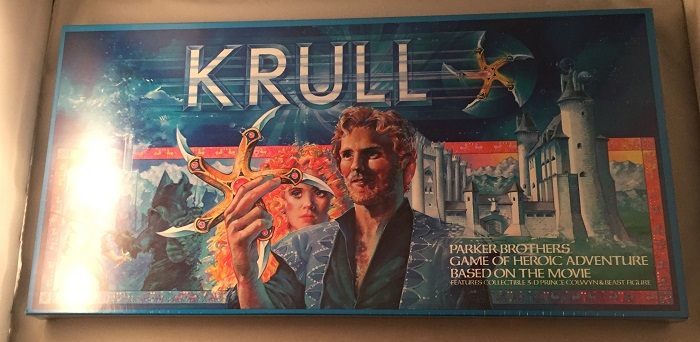 Krull: Parker Brothers Game of Heoic Adventure Based on the Movie (SEALED IN ORIGINAL SHRINK). Stanford SHERMAN, et all.