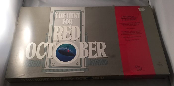 The Hunt for Red October ORIGINAL SEALED BOARD GAME by Tom CLANCY on Back  in Time Rare Books