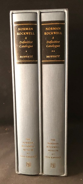 Norman Rockwell: A Definitive Catalogue (2 VOLUME SET IN SLIPCASE). Norman ROCKWELL, Laurie Norton MOFFATT.