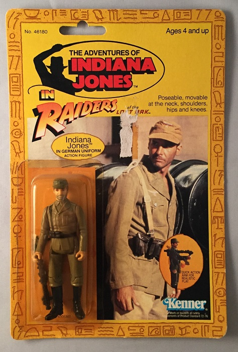 Original MOC Indiana Jones Action Figure from Indiana Jones and the Raiders of the Lost Ark. Indiana JONES, Harrison FORD.