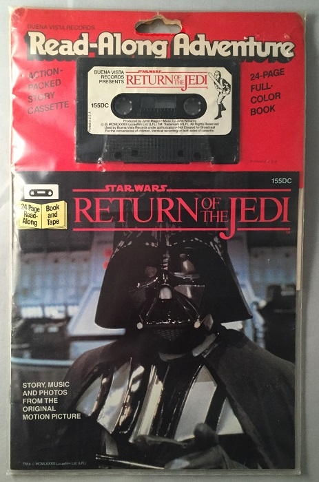 Star Wars: Return of the Jedi Read-Along Adventure (24 Page Book and Tape SEALED in original wrap). George LUCAS.