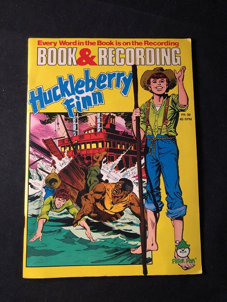 Huckleberry Finn (BOOK & RECORDING). Mark TWAIN.