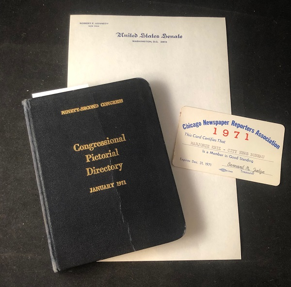 1971 Official Congressional Pictorial Directory SIGNED BY 35 MEMBERS OF CONGRESS; Autographs include Gerald Ford and Shirley Chisholm. Gerald FORD, Howard BAKER, Shirley CHISHOLM, et all.