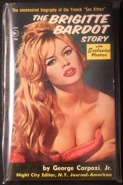 The Brigitte Bardot Story (PBO). George CAPOZI Jr.