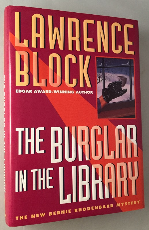 The Burglar in the Library (Signed First Edition). Lawrence BLOCK.