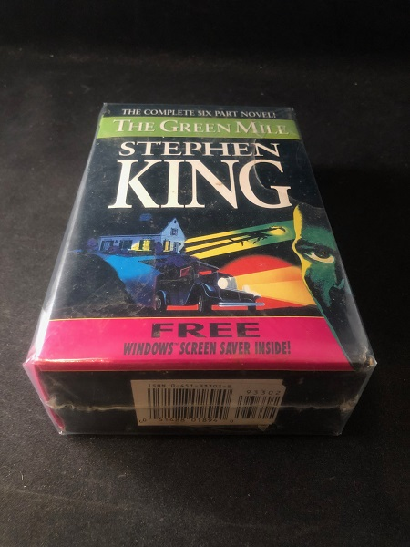 The Green Mile (FIRST PRINTING SET IN ORIGINAL SLIPCASE W/ SCREEN SAVER). Stephen KING.