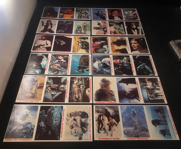 1980 Burger King STAR WARS Trading Card Complete Set of 36 (ON ORIGINAL UNCUT SHEETS AS ISSUED). Star Wars.