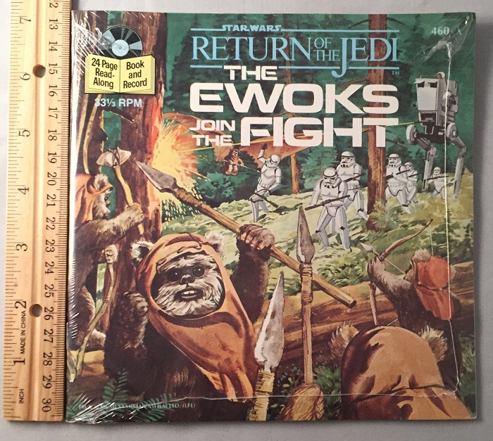 Star Wars: The Ewoks Join the Fight 24 Page Read-Along (SEALED IN ORIGINAL WRAP). Bonnie BOGART, Buena Vista Records.