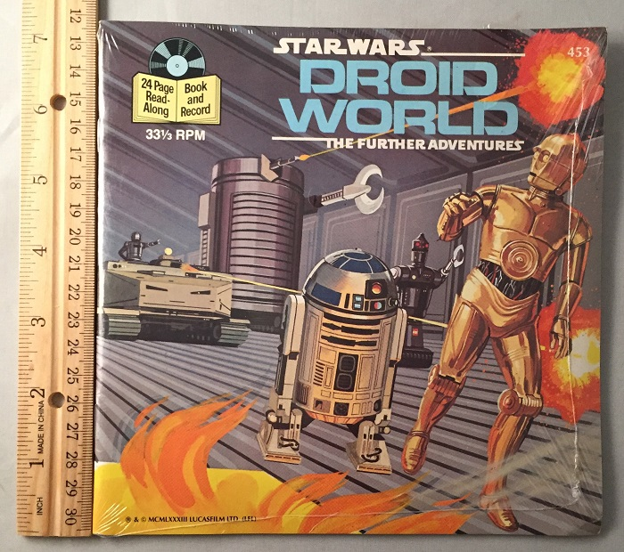 Star Wars: Droid World 24 Page Read-Along (SEALED IN ORIGINAL WRAP). George LUCAS, Buena Vista Records.