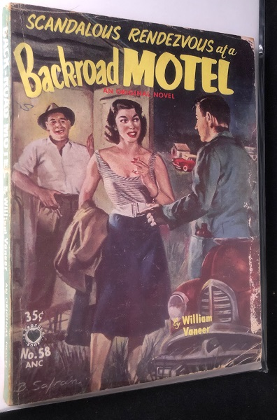 Scandalous Rendezvous at a Backroad Motel. William VANEER.