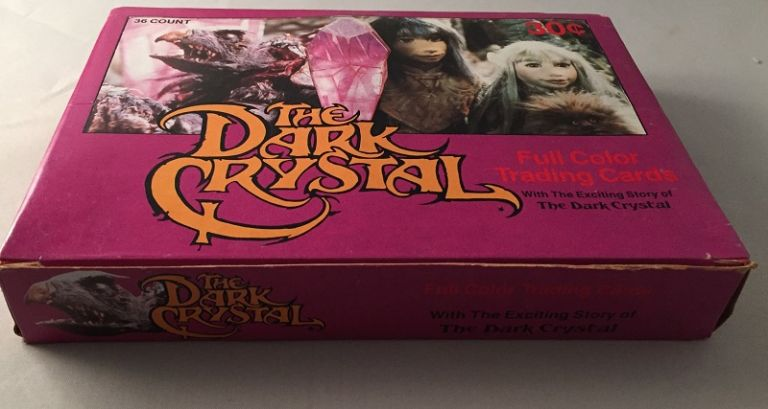 1982 The Dark Crystal UNOPENED WAX BOX; (36 Unopened wax packs). Box.