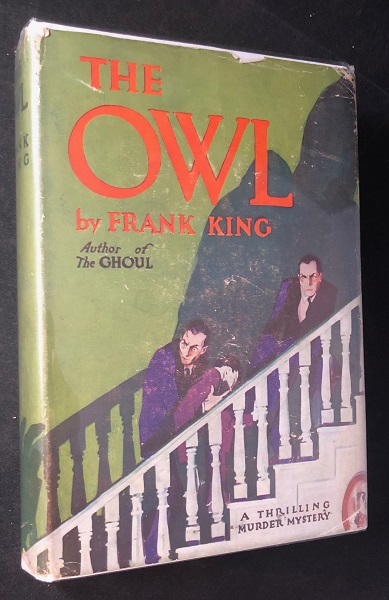 The Owl: A Thrilling Murder Mystery (OFFICE FILE COPY). Detective, Mystery, Frank KING, AKA Clive CONRAD.