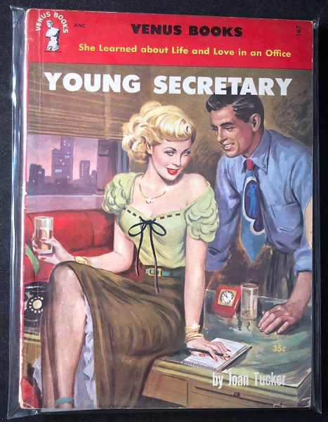 Young Secretary; She Learned about Life and Love in the Office. Joan TUCKER.