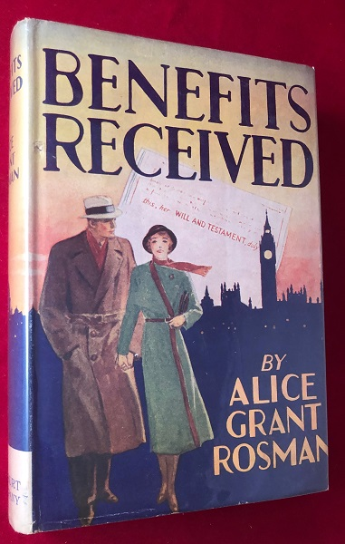 Benefits Received. Alice Grant ROSMAN.