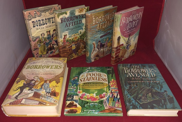 First Printing Complete Set of THE BORROWERS Books (7 First American Editions). Mary NORTON.