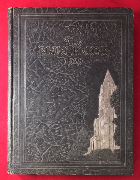 1929 Georgia Tech BLUE PRINT Yearbook. Marion Luther BRITTAIN, et all.