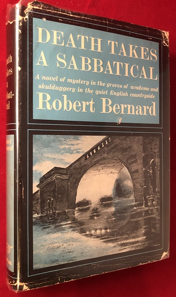 Death Takes a Sabbatical (FIRST PRINTING). Robert BERNARD.