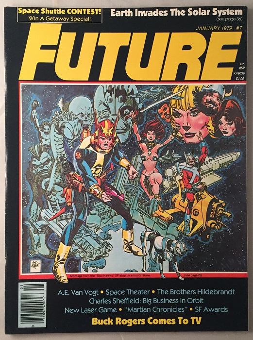FUTURE Magazine (January, 1979); Featuring Art by John Berkey and an Interview with Greg and Tim Hildebrandt. A. E. Van VOGT, Greg HILDEBRANDT, Tim, John BERKEY, et all.