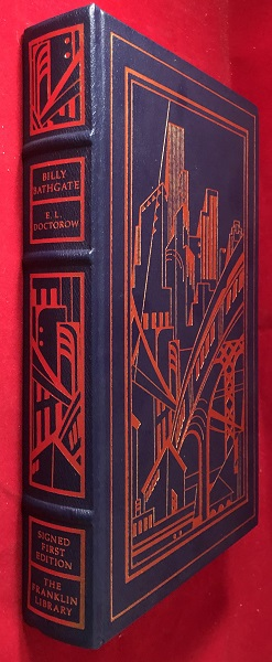 Billy Bathgate (SIGNED LEATHER FIRST EDITION). E. L. DOCTOROW.