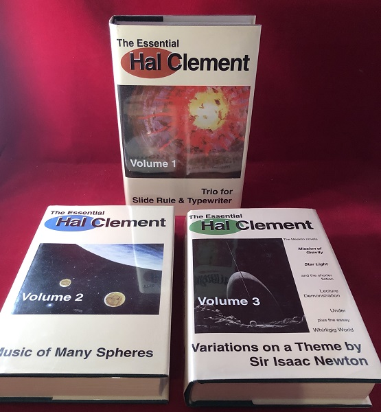 The Essential Hal Clement (3 VOLUME SET). Hal CLEMENT, Mark OLSON, Anthony LEWIS.