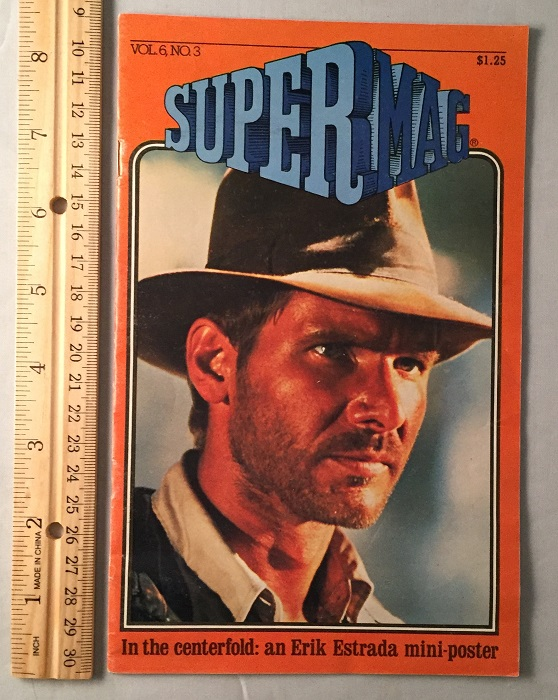 SuperMag Vol. 6, No. 2 (HARRISON FORD COVER WITH FULL COVERAGE OF INDIANA JONES AND THE RAIDERS OF THE LOST ARK). Harrison FORD, George LUCAS, et all.