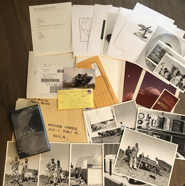 LATITUDE: How American Astronomers Solved the Mystery of Variation (AUTHOR ARCHIVE INCLUDING PERSONAL PHOTOGRAPHS USED IN BOOK). Bill CARTER, Merri Sue CARTER.