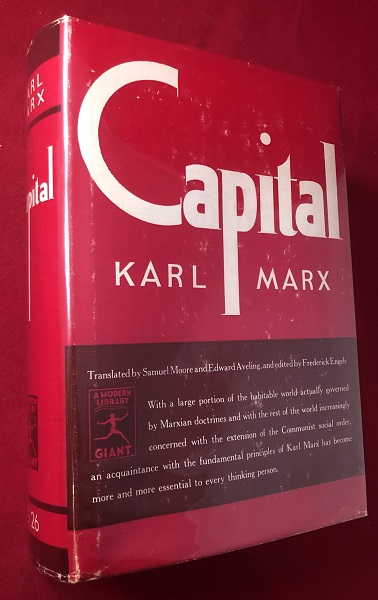 Capital: A Critique of Political Economy. Karl MARX.