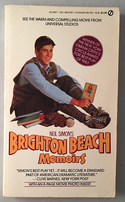 Brighton Beach Memoirs (OFFICIAL MOVIE TIE-IN EDITION). Movie Tie-In, Neil SIMON.