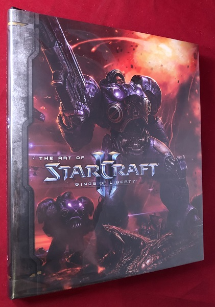 The Art of StarCraft: Wings of Liberty. Toys, Games, Samwise BIDIER, et all.