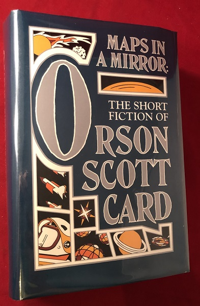 Maps in a Mirror: The Short Fiction of Orson Scott Card (SIGNED BOOKPLATE). Orson Scott CARD.