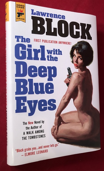 The Girl with the Deep Blue Eyes (SIGNED FIRST HARDCOVER EDITION). Detective, Mystery.