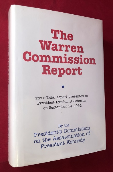 The Warren Commission Report (SIGNED BY PRESIDENT GERALD FORD). Gerald R.: et all FORD.