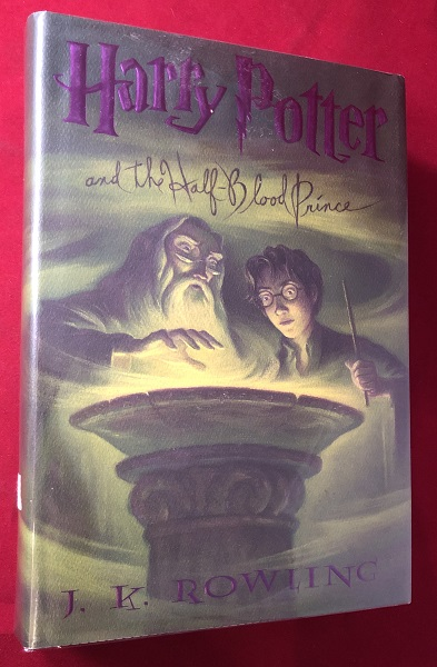 Harry Potter and the Half-Blood Prince (SIGNED BY MARY GRANDPRE). J. K. ROWLING.