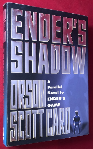 Ender's Shadow (SIGNED ON AUTHOR'S PERSONAL BOOKPLATE). Orson Scott CARD.