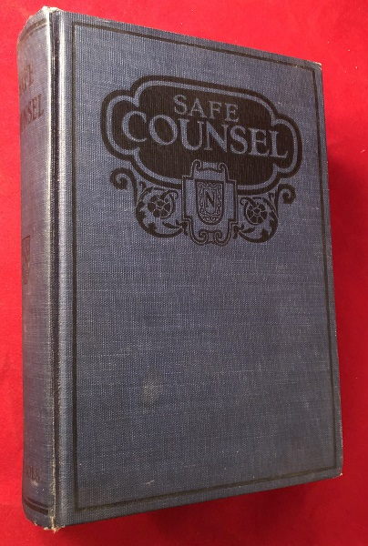 Safe Counsel or Practical Eugenics / To Which Has Been Added the Story of Life. B. G. JEFFERIS, J. I. NICHOLS, Ozora DAVIS, Emma DRAKE.