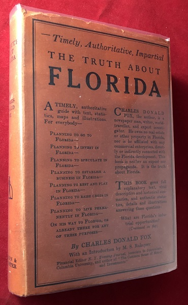 The Truth About Florida (1ST w/ DJ). Charles Donald FOX.