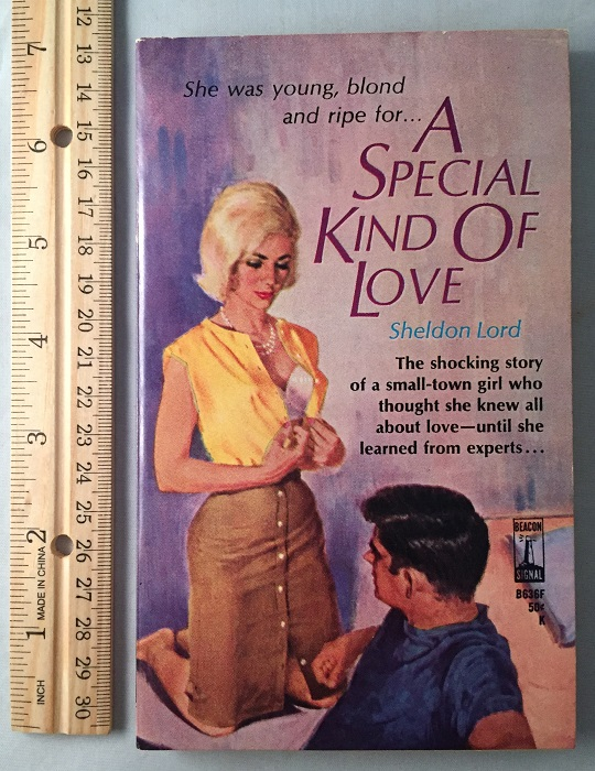 A Special Kind of Love; The shocking story of a small-town girl who thought she knew all about love - until she learned from experts. Pulps, Sheldon: BLOCK LORD, Lawrence.