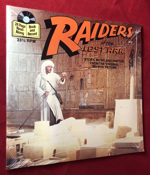 Indiana Jones and the Raiders of the Lost Ark 24 Page Read-Along (SEALED IN ORIGINAL WRAP). James KAHN, George LUCAS, Buena Vista Records.